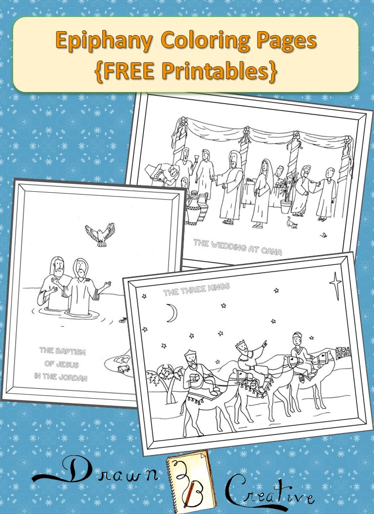 Epiphany Coloring Pages Drawn2BCreative