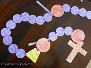 rosary instructions for kids