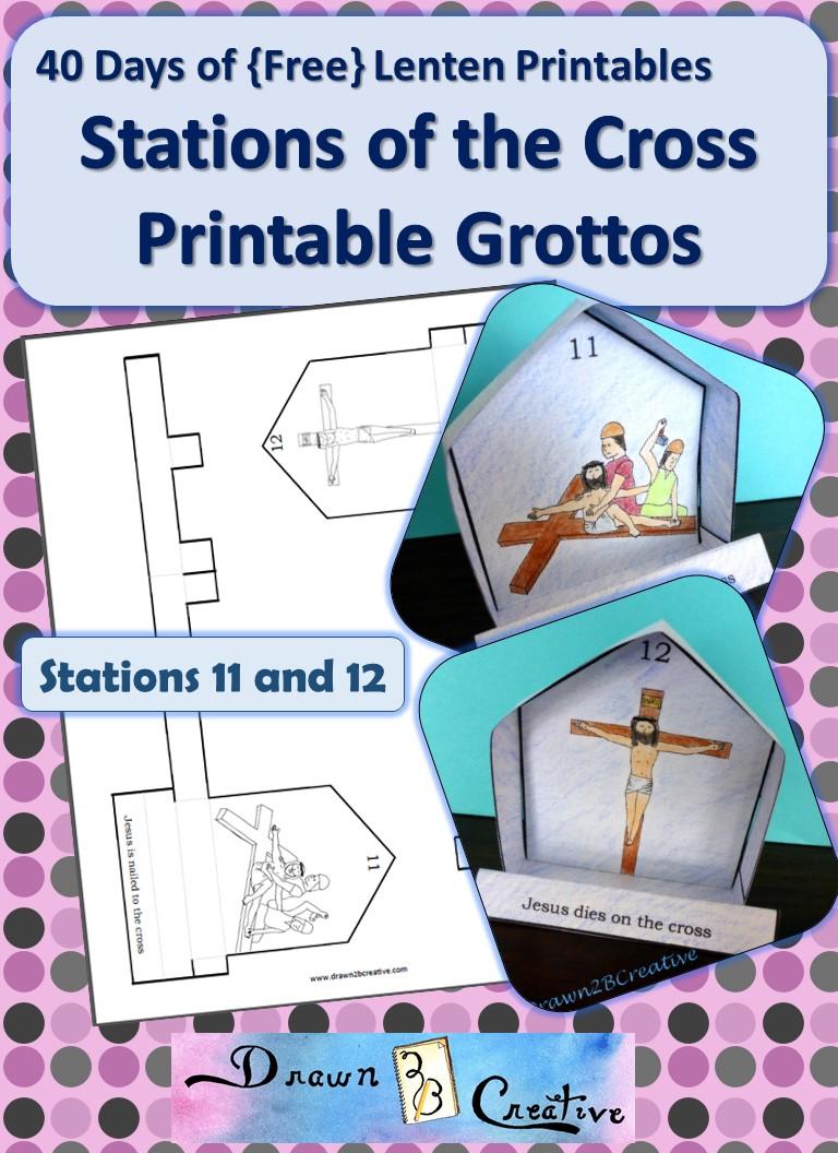 40 Days Of Lenten Printables Stations Of The Cross 11