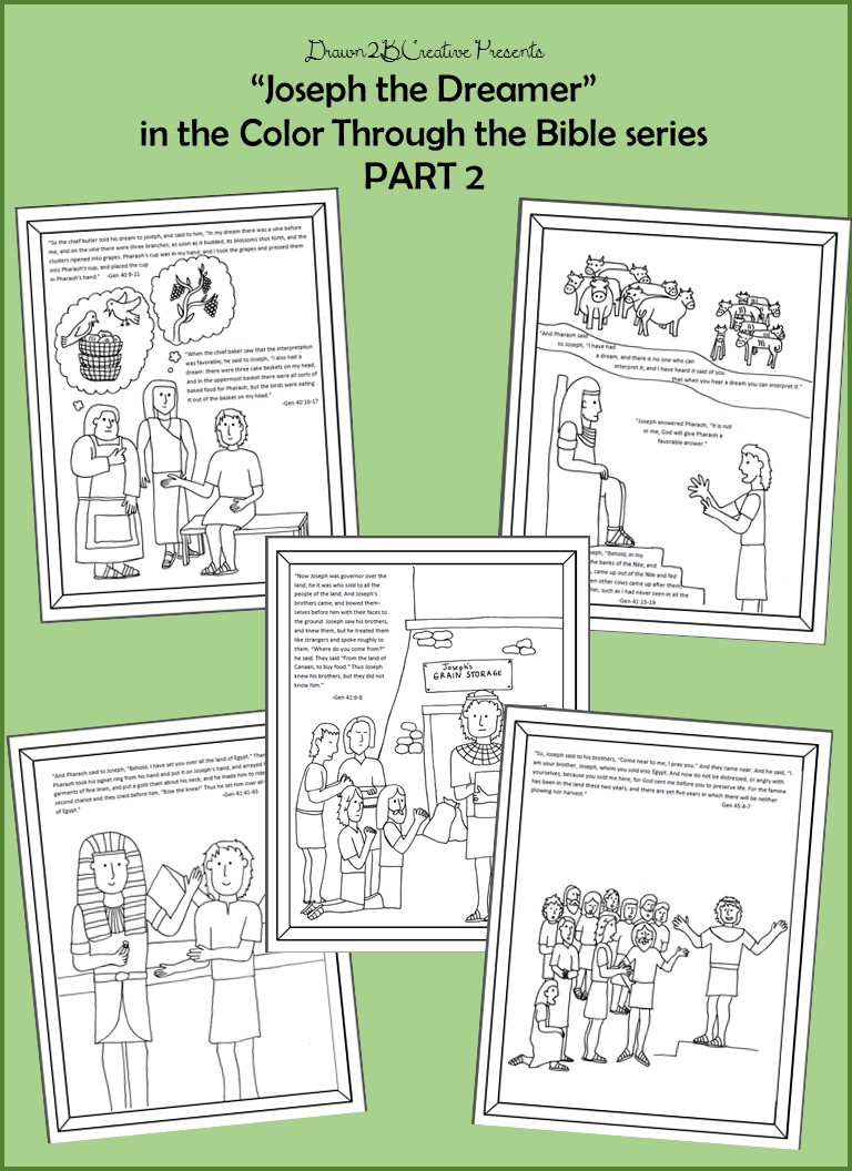 Joseph The Dreamer Coloring Pages Part 2