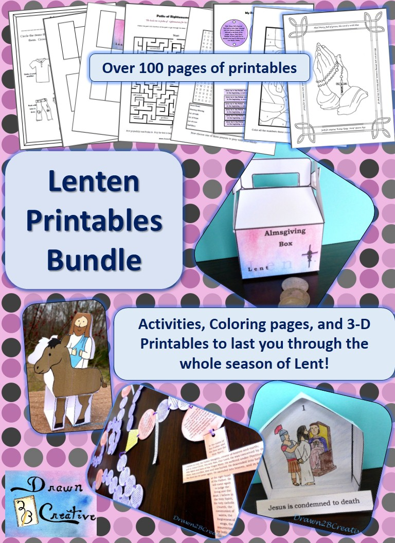 Lenten Printables Bundle